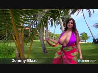 Demmy blaze — purple swimsuit