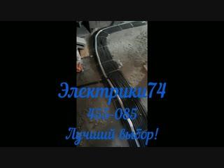 Монтаж электропроводки в коттеджном поселке Звездный Магнитогорск