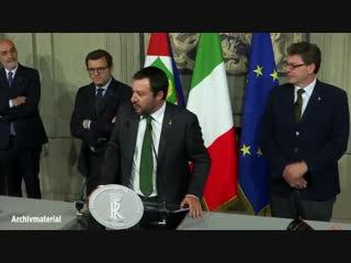 Italien  Neue Regierung aus Lega und Fünf-Sterne-Bewegung nimmt Arbeit auf