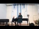 Нуруллина Сафина, малый зал в Гнесинском училище.Лауреат III степени международного конкурса им. М. И. Ланды