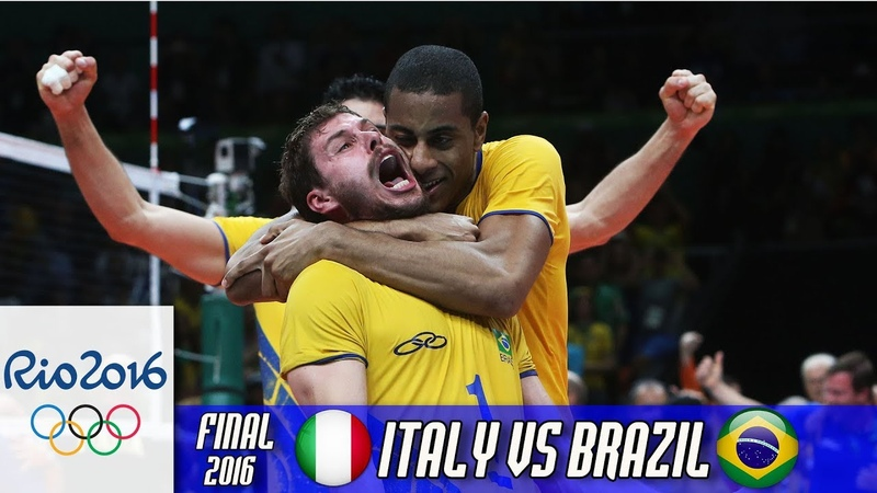 Brazil vs Italy Volleyball Final of the Olympic Games 2016 RIO