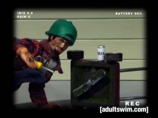 Home Video Bloopers Robot Chicken Adult Swim