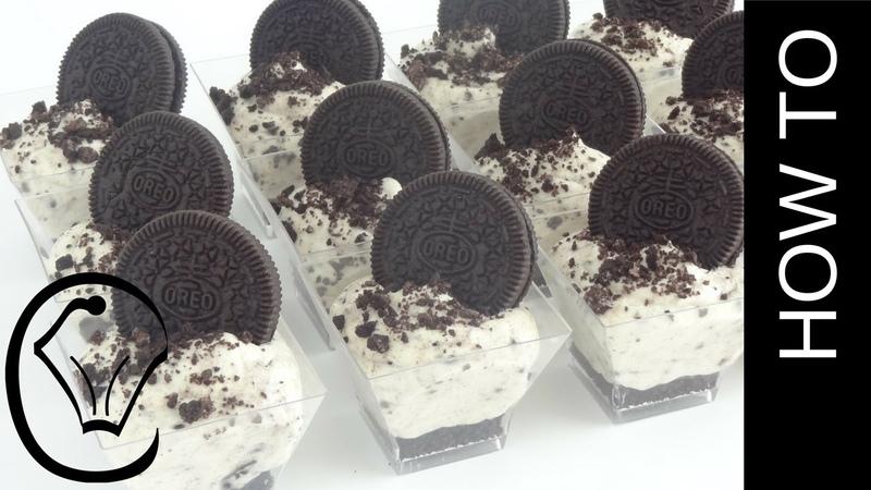 No Bake Mini Oreo Cookies and Cream Cheesecake Cups by Cupcake Savvys Kitchen