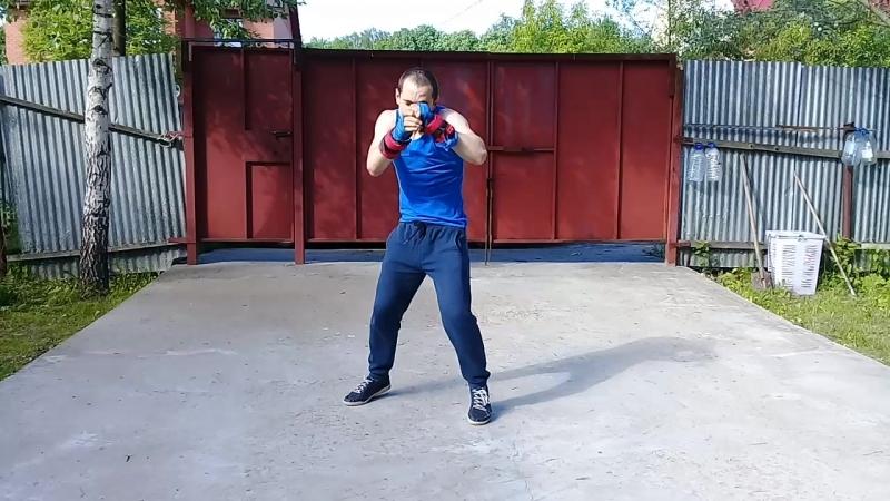 боксёрская тренировка😎✌💪😊✊