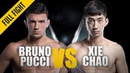 ONE: Bruno Pucci vs. Xie Chao | November 2018 | FULL FIGHT