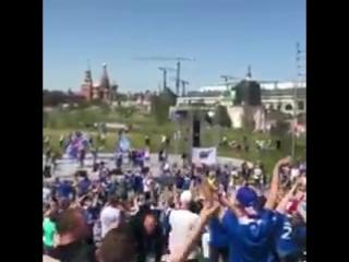 Исландские болельщики зарядили знаменитое «Ху!»