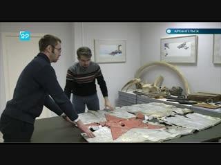 Первый советский флаг на Земле Франца-Иосифа отреставрируют в Архангельске