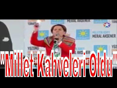 Meral Akşener Bursada Bu seçimin en çılgın projesi Millet Kahveleri Oldu