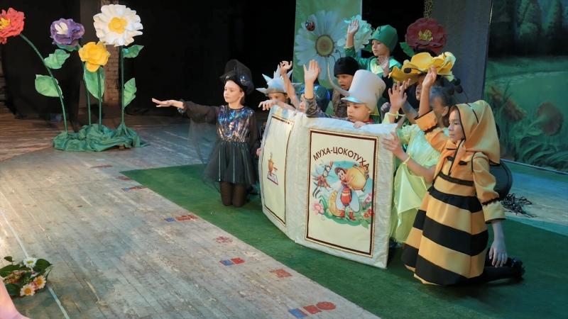 Театральное выступление Цветные сны