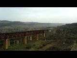 ЭР1-129 сообщением Севастополь - Симферополь по мосту 04.03.2014