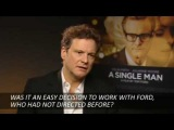 Colin Firth On A Single Man