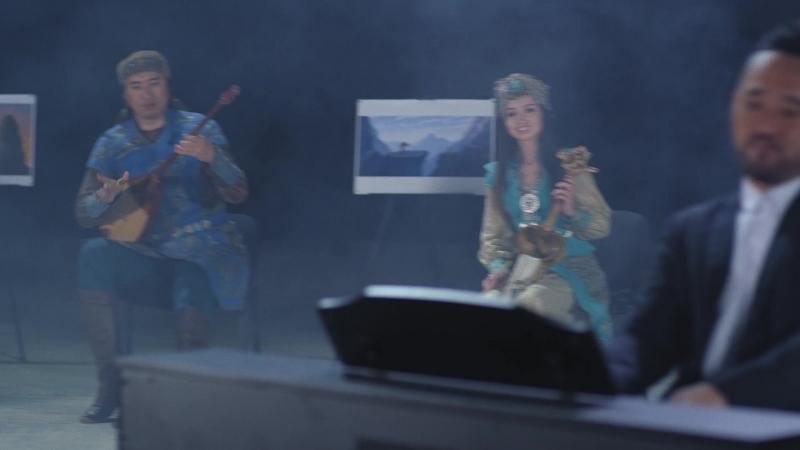 «Мұзбалақ» анимациялық фильмі саундтрегінің музыкалық клипі