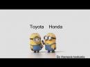 Honda проти Toyota