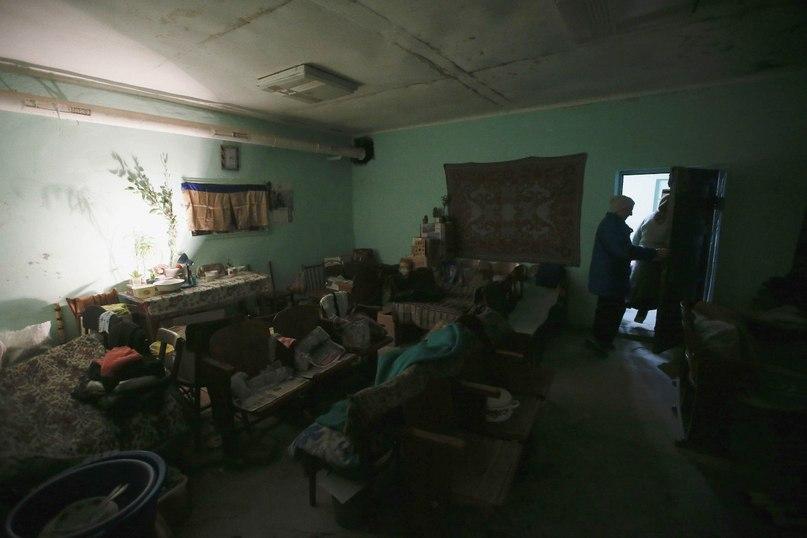 Подвал в Ясиноватой, который используется как убежище