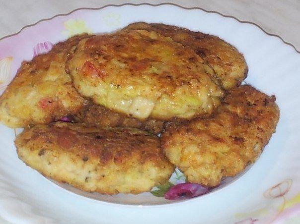 Нежнейшие котлетки по-гавайски с кукурузой Ингредиенты: ●400 гр.куриного филе ●150