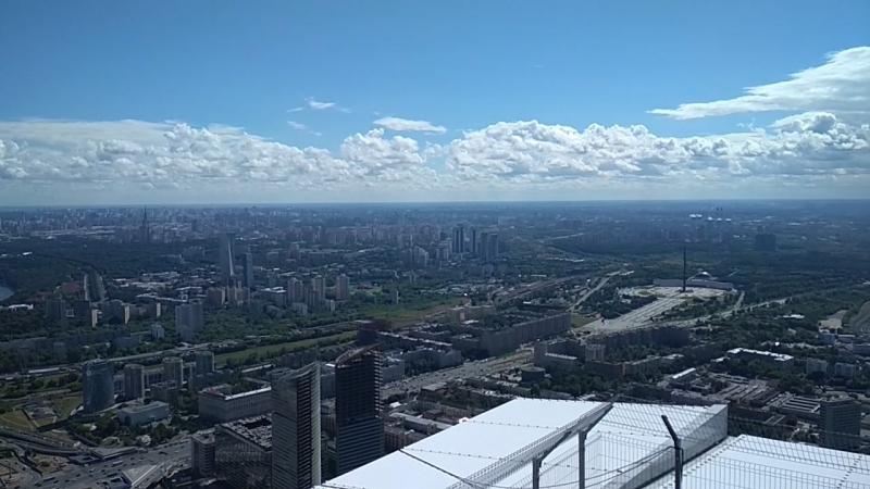 выше только любовь высота 354 метра Москва СИТИ башня ОКО