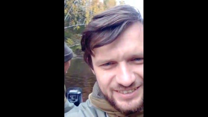 Командировка в тайгу. Северная часть Омской области. Поездка по реке Шиш на лодке, после учёта линии
