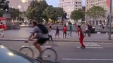 American tourist assaulted by African migrants in Barcelona