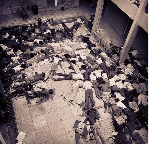 217 убитых в христианской школе в Кении, жертвы сомалийских джихадистов. Апрель...