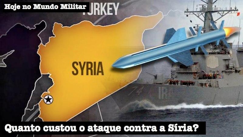 Quanto custou o ataque contra a Síria