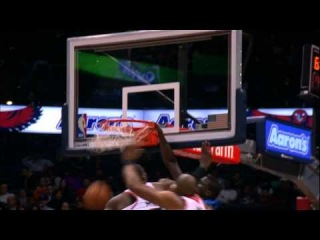 Victor Oladipo's MAJOR Facial on Millsap and Horford