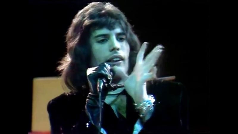 Queen - Killer Queen ( Original Footage Toppop Dutch TV 1974 Stereo Remastered )