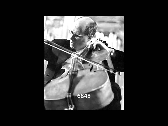 Mstislav Rostropovich Chant du Menestrel by Alexander Glazunov