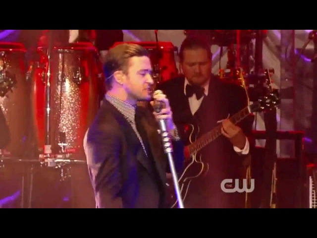 Justin Timberlake Suit Tie Live iHeartRadio Party Release