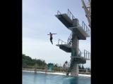 Прыжок Андрея Катюхина с 10 метров