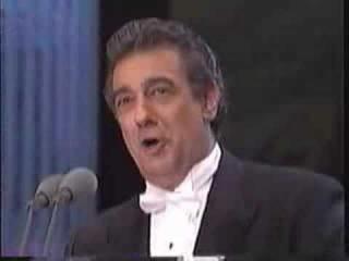 Placido Domingo, Luciano pavaroti