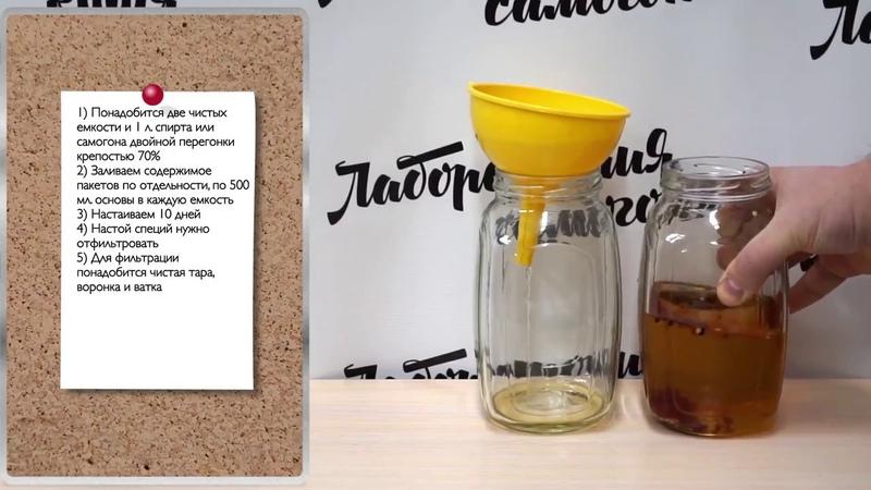 Настойка Джин Лаборатория самогона