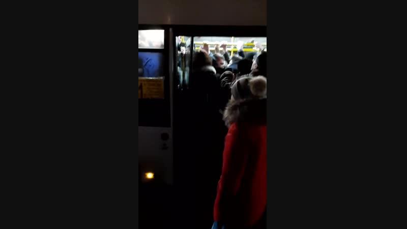51 автобус 04 12 18 г Управа остановка 7 й участок в город время 7 43