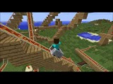 1 # Minecraft американские горки-карта This world scale В HD 2014