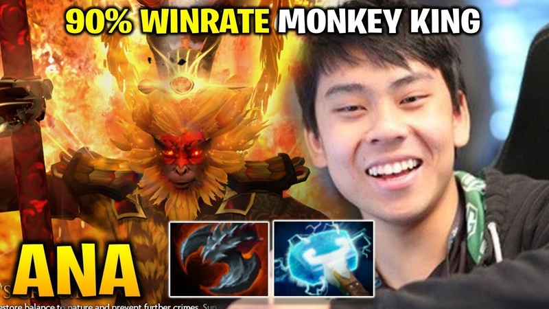 Ana Monkey King 90% Winrate in Party Game