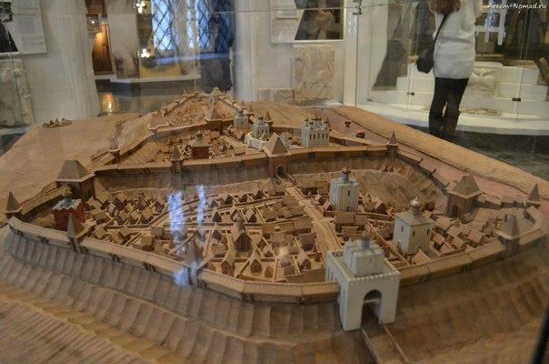 Макет средневекового Владимира