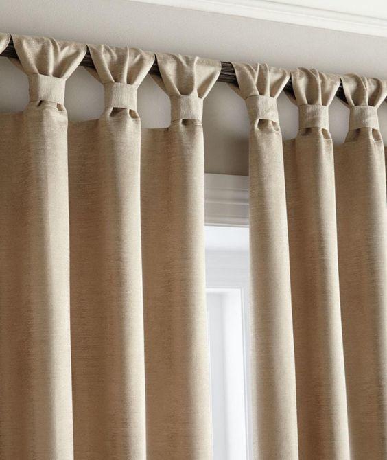 Складки на шторах