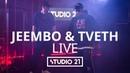 JEEMBO TVETH | LIVE @ STUDIO 21 [RapNews]