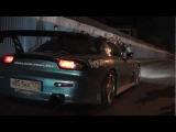Клип посвящается гонкам. Под французский реп.