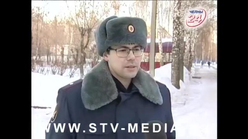 Сюжет о реализации наказания в виде обязательных работ в Набережных Челнах (РЕН-ТВ Челны)