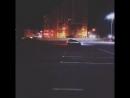 Любители ночного дрифта уже облюбовали парковку нового ТЦ