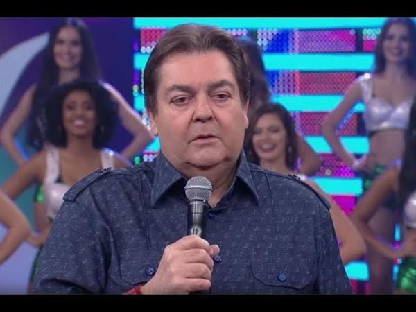 FAUSTÃO CRITICA BOLSONARO AO VIVO IMBECIL