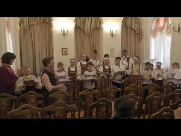 Отчетный концерт Образцового ансамбля народной песни «Ладо» 18 апреля 2019 г