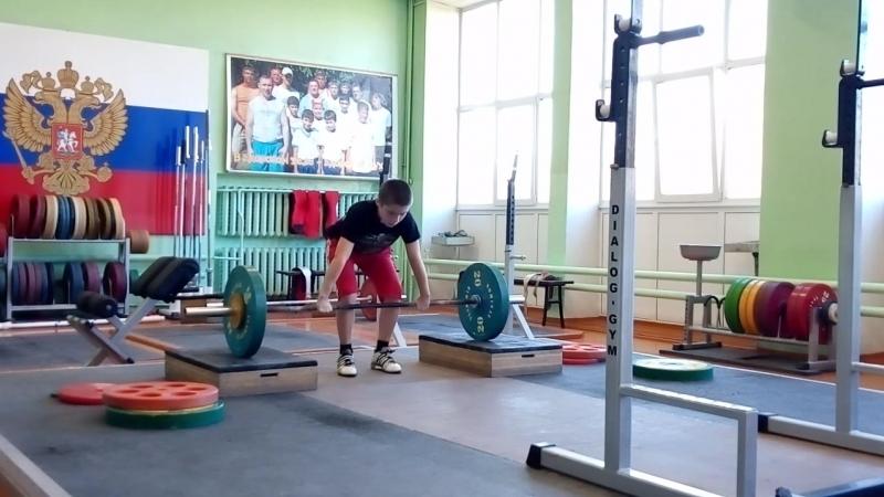 Максим Александров-06 гр-толчок кл. с пл.-50.55.58-нет.58.60 кг.
