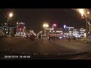 Авария на Октябрьской площади в Костроме