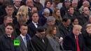 Король спит Мухаммед VI заснул во время речи французского президента