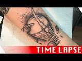 Out of this world - Tattoo time lapse