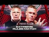 Джон Сина против Брока Леснара — Экстремальные правила 2012
