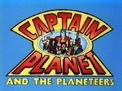Captain Planet Intro and Outro TV Cartoon Opening Theme 1990