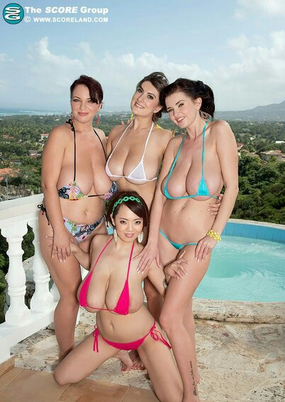 Kayla sinz and jolean receive flange amiable