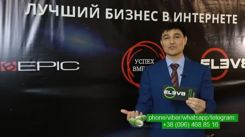 Bepic Elev8 Булат Садыков